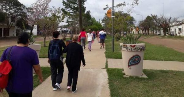 Caminata-aerobica