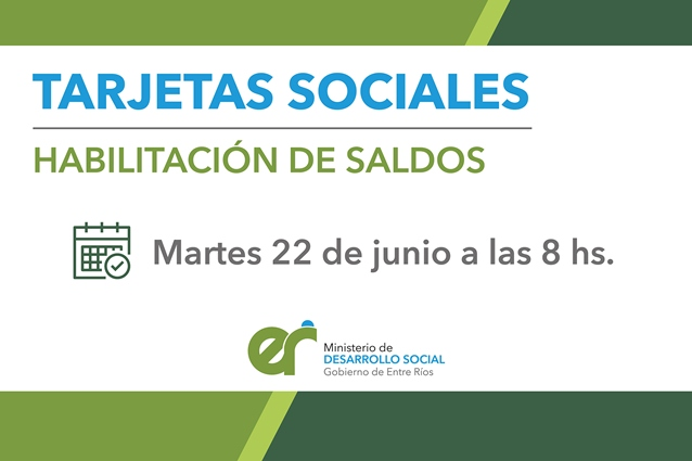 Tarjeta Social Acreditación GOBERNACIÓN